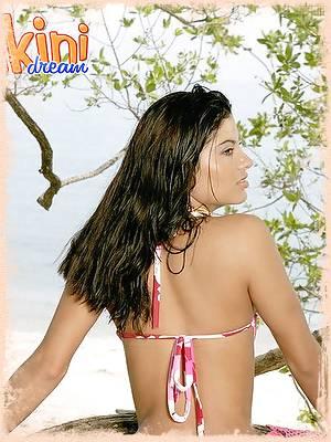 Costa Rican beach babe