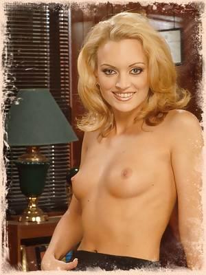 Sexy Blonde Pornstar