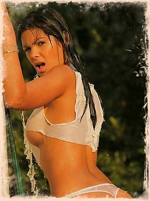 Karla Spice really gets wet and wild